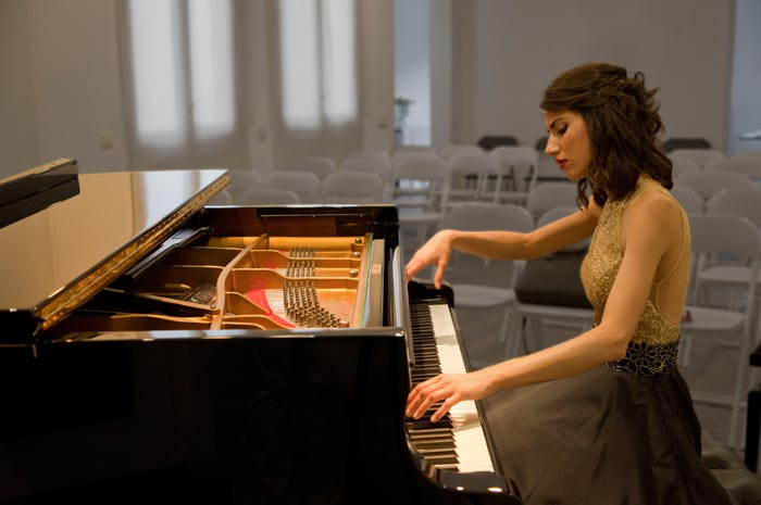 Duo recital in Centro Sociocultural Gilitos
